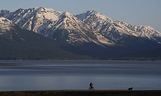Turnagain Arm und Kenai Mountains