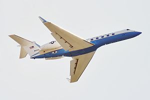 Gulfstream G550 - U.S. Air Force C-37B.