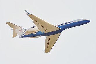 Gulfstream G550 - U.S. Air Force C-37B.