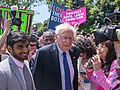 U.S. Senator Bernie Sanders at the Stop the Bans rally.jpg