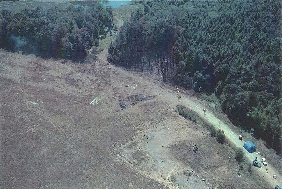 UA93 crash site