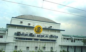 University of the East Ramon Magsaysay Memorial Medical Center - UERMMMC Facade