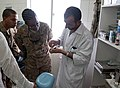 US, Afghan dentists sketch out partnership at police clinic 130829-Z-SW098-035.jpg