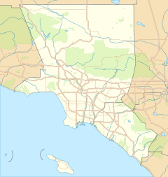 Location within Los Angeles Metropolitan Area
