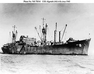 USS Algorab (AKA-8) - Image: USS Algorab AKA 8
