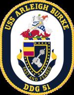 USS Arleigh Burke DDG-51 Crest.png