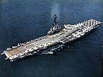 USS Bon Homme Richard (CVA-31) underway at sea c1959.jpg