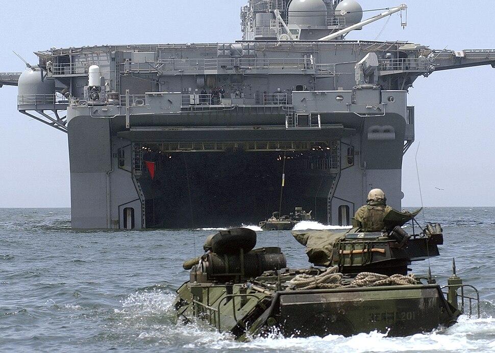 USS Bonhomme Richard (LHD-6) welldeck