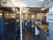 USS Cassin Young galley