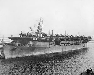 USS Independence v roce 1945