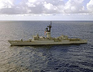 USS Jesse L. Brown - Image: USS Jesse L. Brown (FF 1089) off Guantanamo 1979