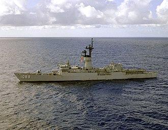 USS Jesse L. Brown - Image: USS Jesse L. Brown (FF 1089) off Guantanamo 1979