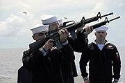 USS Ohio firing detail