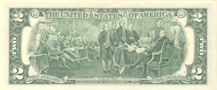 US $2 reverse