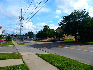 U.S. Route 62 in New York - US 62 through Gowanda with NY 39