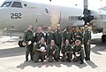 US Navy 040409-N-4179T-001 Combat Aircrew 4 assigned to Patrol Squadron Two Six (VP-26) pose for a photo following a successful Search and Rescue (SAR) mission off the coast of Malta.jpg