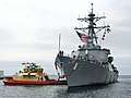US Navy 051108-N-0899S-014 The guided missile destroyer USS Higgins (DDG 76) returns to Naval Station San Diego.jpg