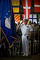 US Navy 091207-N-8623G-185 Adm. Robert F. Willard, commander of U.S. Pacific Command, salutes the colors during a U.S. Navy and National Park Service ceremony commemorating the 68th anniversary of the Dec. 7, 1941 surprise atta.jpg