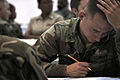 US Navy 100909-N-7367K-002 Service members assigned to various commands along the Gulf Coast take the E-5 advancement exam.jpg