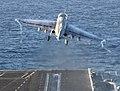 US Navy 101213-N-7422B-440 An EA-6B Prowler launches from the flight deck of USS Carl Vinson (CVN 70).jpg