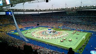Stade de France - The opening ceremony of the 2016 European Football Championships