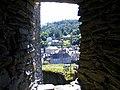 Uitzicht op de stad La Roche vanuit het kasteel.JPG