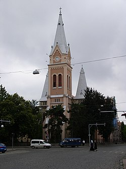 Ukraine-Mukacheve-Cathedral of Martin of Tours-2.jpg