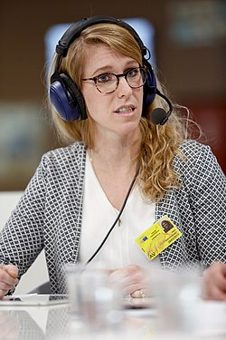 Ulrike Drevenstedt - English part - Citizens' Corner debate on Europe's public health systems- Facing the future (32377419093).jpg