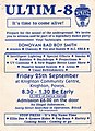 """Ultim8 rave flyer, Knighton, September 25th 1992-""""Its time to come alive"""" (back).jpg"""