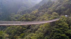 Umenokitodoro Park Suspension Bridge.jpg