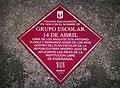 Una placa rememora el 'Grupo Escolar 14 de abril' 03.jpg