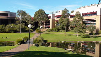 University of Wollongong - The science buildings at the Wollongong Campus