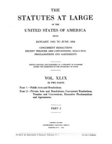 United States Statutes at Large Volume 49 Part 2.djvu