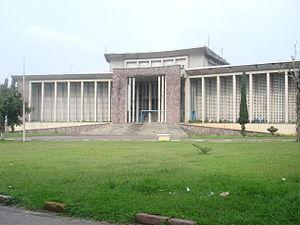 University of Kinshasa - The Rectorat, main administrative building at the University of Kinshasa