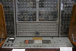 History of computing in the Soviet Union - Ural-1 Control Unit