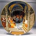 Urbino, nicola da urbino, tagliere con leone X che appunta Federico II gonzaga capitano gen. della chiesa, 1525-30 ca..JPG