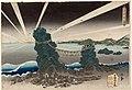 Utagawa Kunisada I (c. 1832) Dawn at Futami-ga-ura.jpg
