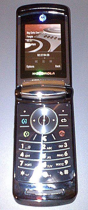 Motorola Razr2 - Image: V9