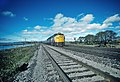 VIA 6765 eastbound at Coport, ON Canada in October 1981 (32067046955).jpg