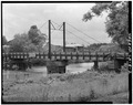 VIEW OF SWING SPAN, LOOKING WEST - Bayou Teche Bridge, Spanning Bayou Teche, Ruth, St. Martin Parish, LA HAER LA,50-RUTH,1-2.tif
