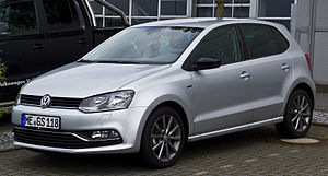 VW Polo 1.2 TSI BlueMotion Technology Fresh (V, Facelift) – Frontansicht, 13. Juli 2014, Velbert.jpg