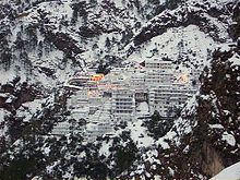 The Vaishno Devi shrine attracts millions of devotees every year, located in Katra