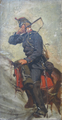 Valdemar Irminger - En dragon på hesteryg - 1881.png