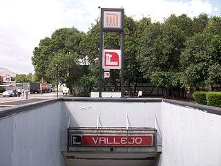 Metro Vallejo Mexico City metro station