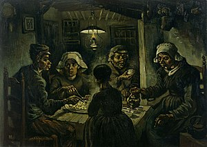 The Potato Eaters - Image: Van willem vincent gogh die kartoffelesser 03850