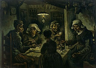 <i>The Potato Eaters</i> Painting by Vincent van Gogh