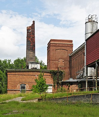 Vaucluse Mill Village Historic District - Vancluse Mill