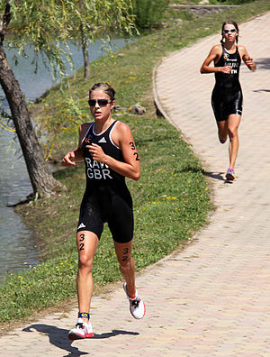 Vanessa Raw - Vanessa Raw at the World Cup in Tiszaújváros, 2009.
