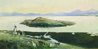 Vasileios Hatzis - Image: Vassileios Chatzis The island of Pamvotis
