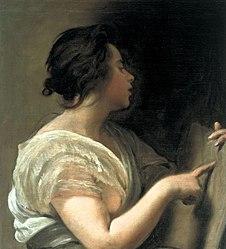 Diego Velázquez: Female Figure (Sibyl with Tabula Rasa)
